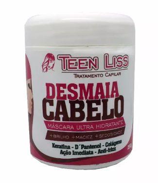 Teen Liss Máscara Ultra Hidratante Desmaia Cabelo 250g