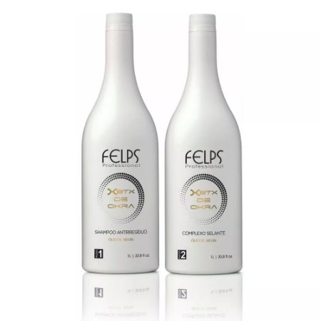 Felps Escova Progressiva Botox De Okra 2x1000ml