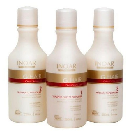 Progressiva G.Hair 3x250ml