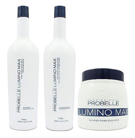 Kit Lumino Max - Shampoo/condicionador 1l + Máscara 500g