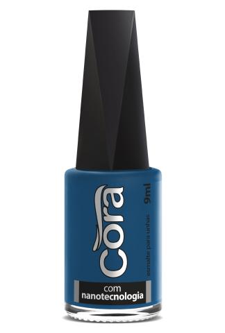 Esmalte Cora 9ml Black 11 Azul 37