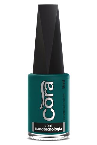 Esmalte Cora 9ml Black 11 Verde 84