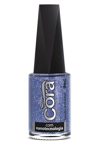 Esmalte Cora 9ml Top Glitter Netuno