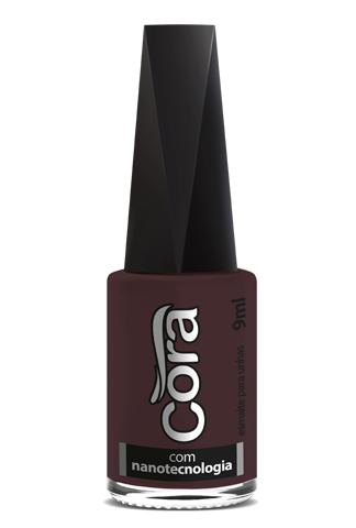 Esmalte Cora 9ml Black 13 Cremoso Pinot Noir