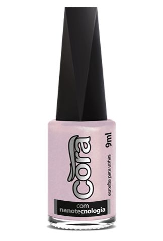 Esmalte Cora 9ml Black 13 Metal Tech Nude