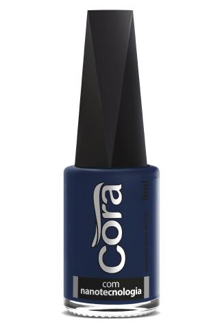 Esmalte Cora 9ml POP Cremoso Azul Bandeira
