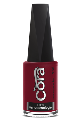 Esmalte Cora 9ml POP Cremoso Red 31
