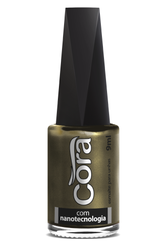 Esmalte Cora 9ml POP Cintilante Gold