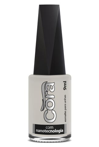 Esmalte Cora 9ml POP Natural Branquinho Duo