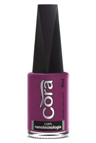 Esmalte Cora 9ml Black Pink 12