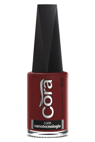 Esmalte Cora 9ml Black Red 80