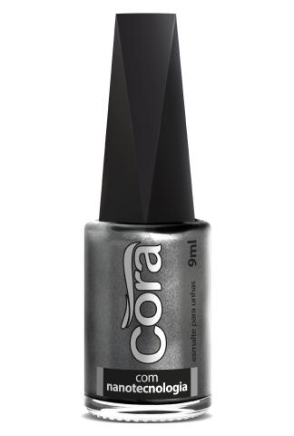 Esmalte Cora 9ml Black Aluminium