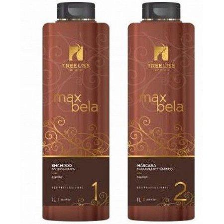 Tree Liss Escova Progressiva Max Bela kit  1l