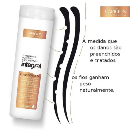 Condicionador Integral Capicilin 250ml