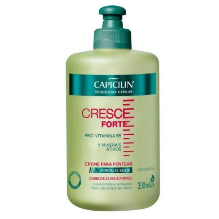 Creme Para Pentear Cresce Forte Capicilin 300ml