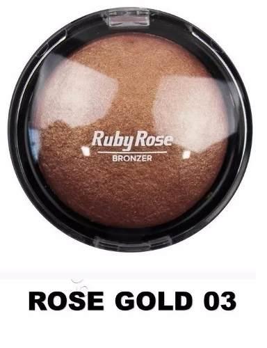 Pó Iluminador Bronzeador Ruby Rose 03