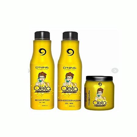 Kits Manutenção Q'eta O Facho Oil Mix 3x250ml D'nine