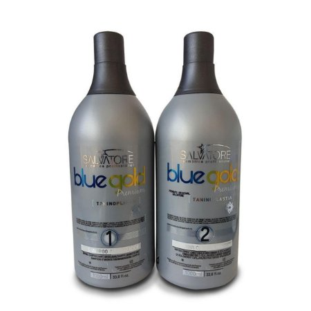 Progressiva Salvatore Blue Gold Premium S/Formol 2x1000ml