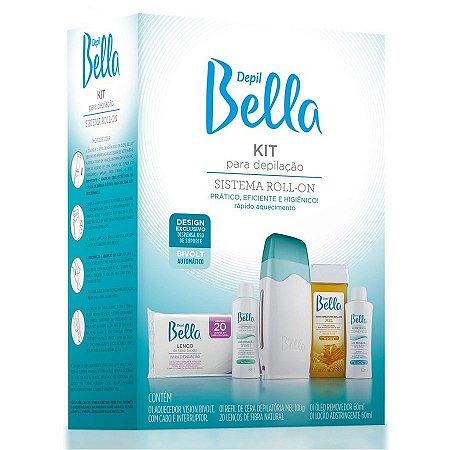 Kit Depil Bella para Depilação Roll-on