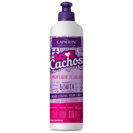 Umidificador de Cachos Love Cachos 300ml Capicilin
