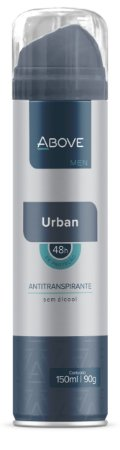 Desodorante Antitranspirante Above Men Urban 150ml