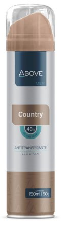 Desodorante Antitranspirante Above Men Country 150ml