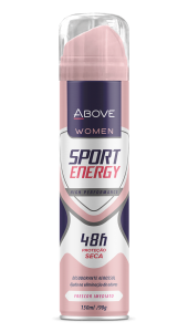 Desodorante Antitranspirante Above Women Sport Energy 150ml