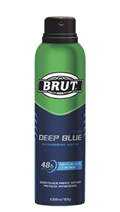 Desodorante Antitraspirante Brut Men Deep Blue 150ml