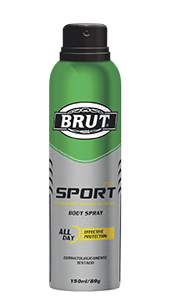 Desodorante Antitraspirante Alcoolico Brut Men Sport 150ml