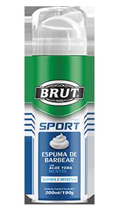Espuma de Barbear Brut Men Sport 200ml