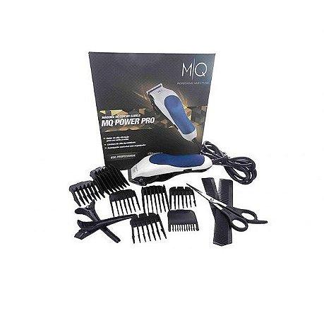 Máquina de Cortar Cabelo MQ Power Pro Kit Completo 220v