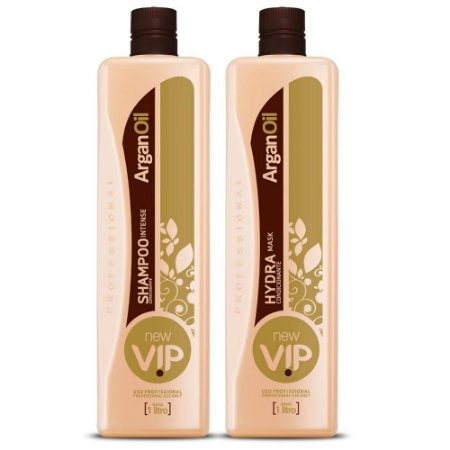 Escova progressiva VIP Argan Oil
