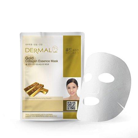 Máscara Facial Iluminadora com Ouro e Colágeno Dermal - 23g