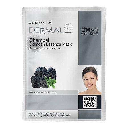 Máscara Facial Detox com Carvão Vegetal e Colágeno Dermal - 23g