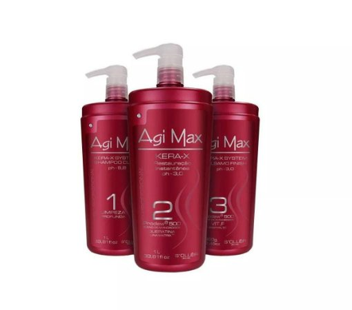Agi Max Kit Progressiva Inteligente 3 Litros (3 X 1000 Ml)