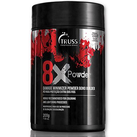 Truss 8x Powder - Pó Para Proteção Extra Dos Fios 200g