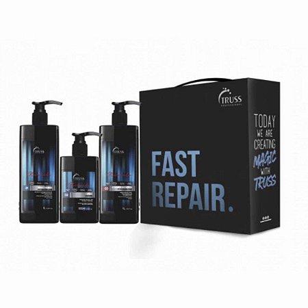 Kit Fast Repair Miracle Tratamento E Recuperação (3 Produtos) - Truss Professional
