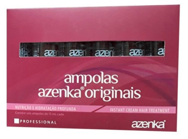 Ampolas Azenka Originais 6x15ml