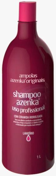 Shampoo Uso diário Azenka Originais 1L