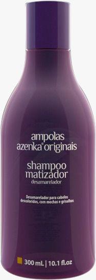 Shampoo uso diário Matizador Azenka Originais 300ml