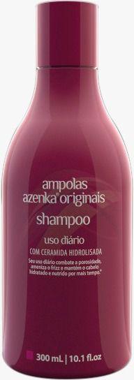Shampoo Uso diário Azenka Originais 300ml