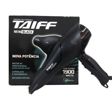 Secador Taiff New Black 1700W - 220v