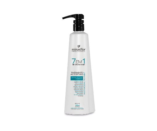 7 em 1 BB Cream Hair Multifuncional Minas Flor - 500ml