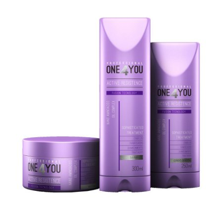 Kit One4You Active Resistence (3 Passos)