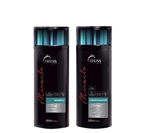 Truss Kit Miracle Shampoo + Condicionador 2x300ml