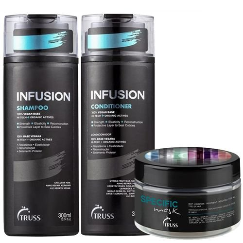 Truss - Kit Infusion Shampoo + Condicionador + Specific Mask