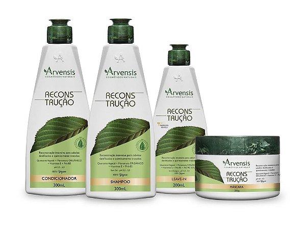 Kit Arvensis Reconstrutor Vegano 4 Produtos