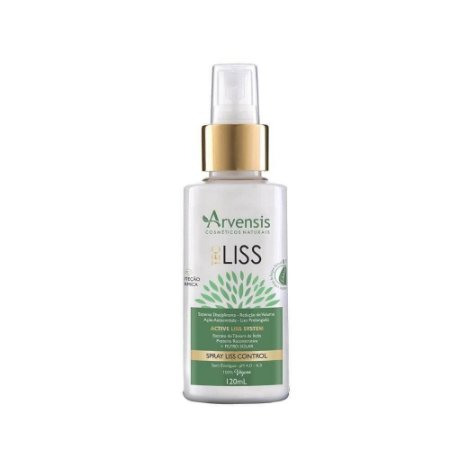 Arvensis Spray Liss Control Tec Liss Vegano - 120ml