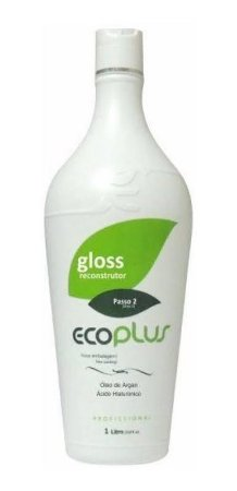 Ecoplus Progressiva Gloss Óleo De Argan Passo 2 1000ml