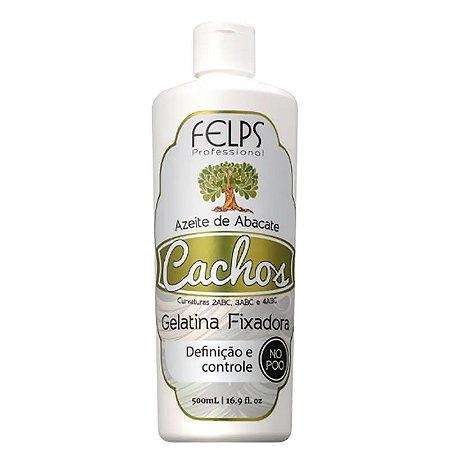 Felps Cachos Azeite de Abacate - Gelatina Fixadora 500ml